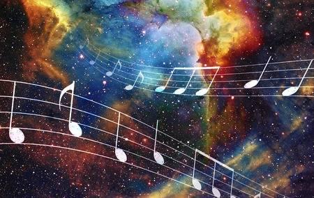 51685028-note-de-musique-et-de-l-espace-et-les-étoiles-avec-abstrtact-fond-de-couleur